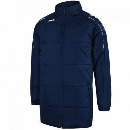 JAKO CLASSICO zimní bunda bez kapuce vel. M, námořní modrá