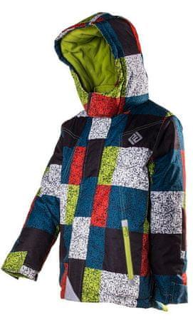PIDILIDI skijaška jakna za dječake, višebojna, 98