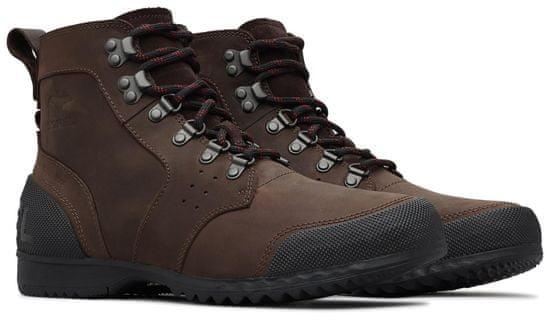 Sorel Ankeny Mid Hiker Cattail Black 44