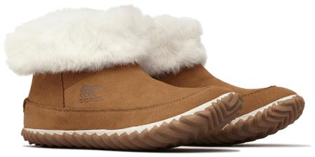 Sorel ženski čevlji Out N About Bootie Elk Natural, rjavi, 40,5