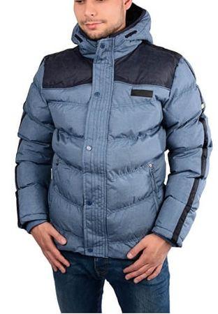 Cars-Jeans Pánská modrá bunda Bitetto Navy 4146912 (Velikost M)