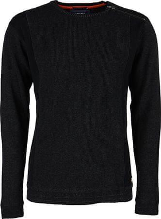Noize Férfi hosszú ujjú pulóver faszén 4523235-00 (méret S)
