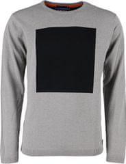 Noize Męska koszulka z długimi rękawami sweter z Greymel 4523115-00