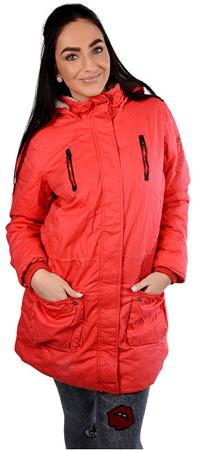 Cars-Jeans Kobiety Red Red Jacket brzuszek 4866460 (rozmiar S)