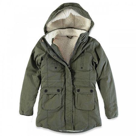 Cars-Jeans Női has Army zöld kabátot 4866419 (méret S)