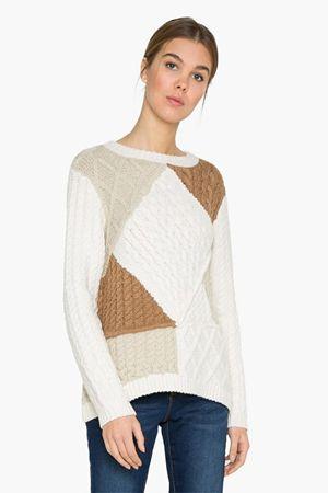 Desigual Női pulóver Jers Mara 17WWJF18 1001 (méret L)