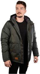 MEATFLY Pánská bunda Chubby 2 Mns Jacket B - Light Gray Heather