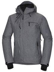 Northfinder Męska kurtka narciarska cibor Grey melanż BU34002SNW-320