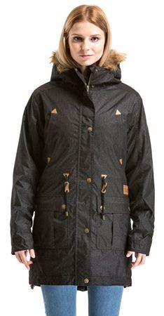 MEATFLY Damska kurtka zimowa kurtka deszczowa 2 C - Heather Czarne (rozmiar XS)