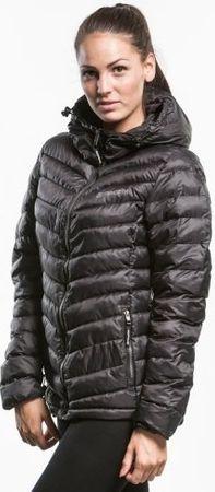 MEATFLY Damska kurtka zimowa Bella kurtki A 2 - Black (rozmiar XS)