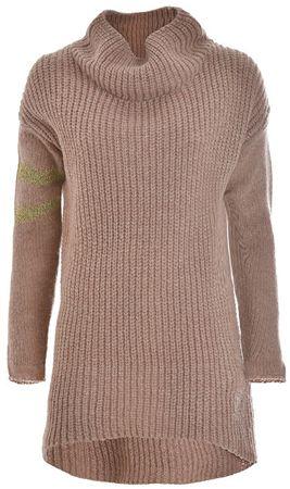 Deha Panie sweter sweter z dzianiny B64420 Rose Pył (rozmiar S)
