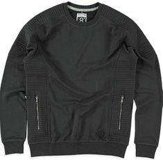 Cars-Jeans Pánská černá mikina Pollux Black 4602601