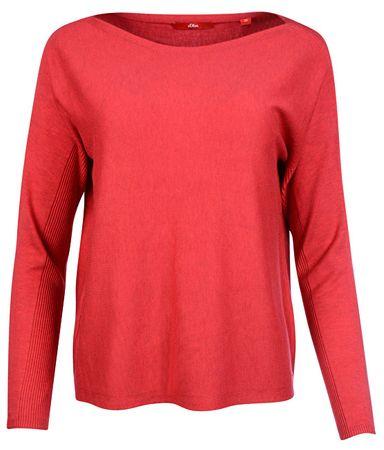 s.Oliver Női pulóver 14.801.61.4383.45W0 Red (méret 36)