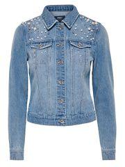 8647b00401 ONLY Női kabát Chris Ls Pearl DNM Jacket Bj Medium Blue Denim