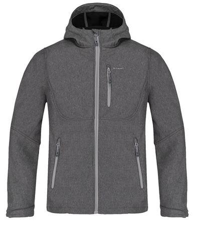 Loap Férfi softshell kabát Leiton Dk Melnage SFM1811-T49X (méret M)