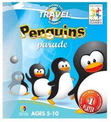 Smart Games magnetna potovalna igra Parada pingvinov