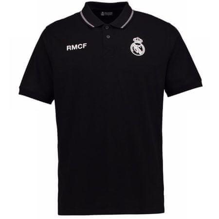 Real Madrid polo majica N°4, S, črna