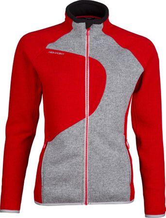 High Point Skywool 3.0 Lady Sweatshirt Red/Grey S
