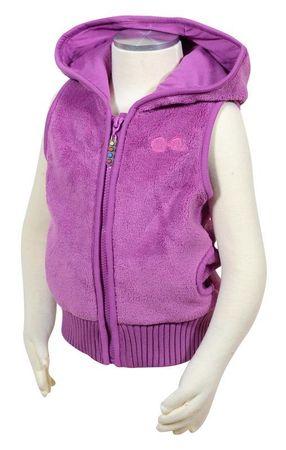 PIDILIDI prsluk za djevojčice, roza, 128