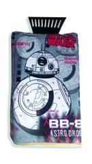 KAJA Škrabka s rukavicou, potlač Star Wars: robot BB-8