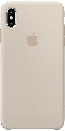 Apple silikonska maskica za iPhone XS Max, sivo bijela MTFF2ZM/A