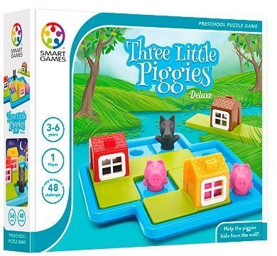 Smart Games igra Trije prašički - Deluxe (48 izzivov)