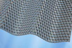 LanitPlast Vlnitý polykarbonát Marlon CSE DIAMOND VL 76/18 síla 2,6 mm čirý