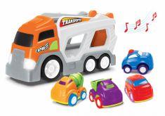Wiky kamion s 4 automobila