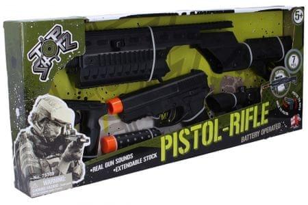 Wiky Pistolet składany i karabin maszynowy 2 w 1