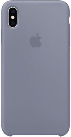 Apple silikonový kryt na iPhone XS Max, levandulovo šedá MTFH2ZM/A