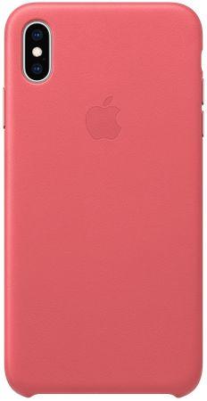 Apple kožené puzdro Folio na iPhone XS Max, pivoňkovo ružová MRX2ZM/A