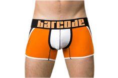 BARCODE BERLIN oranžové pánske boxerky Danuka 91126