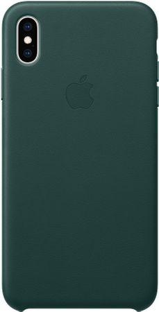 Apple kožený kryt na iPhone XS Max, piniovo zelená MTEW2ZM/A