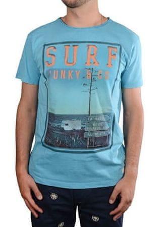 c5353860ce7d Pánske modré tričko s potlačou Django Skyblue 4208248 (Veľkosť M) ...