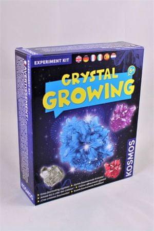 Kosmos znanstveni set rast kristalov