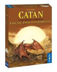 Igroljub igra Catan novi scenariji za razširitve Zakladi, zmaji in raziskovalci