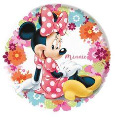 Stor krožnik Minnie