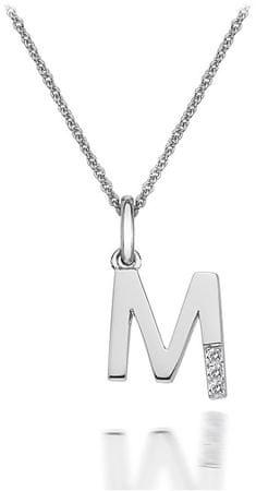 Hot Diamonds Zawieszka Hot Diamonds Micro M Classic DP413 srebro 925/1000