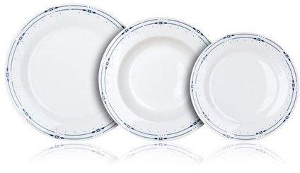 Banquet komplet krožnikov SANSA, 18 kosov