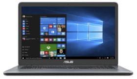 Asus prijenosno računalo X705MB-BX019 PN5000/4GB/SSD256GB/17,3HD+/MX110/EndlessOS