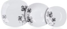 Banquet zestaw talerzy FLOREA, 18 sztuk