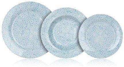Banquet komplet krožnikov Blue Meadow, 18 kosov