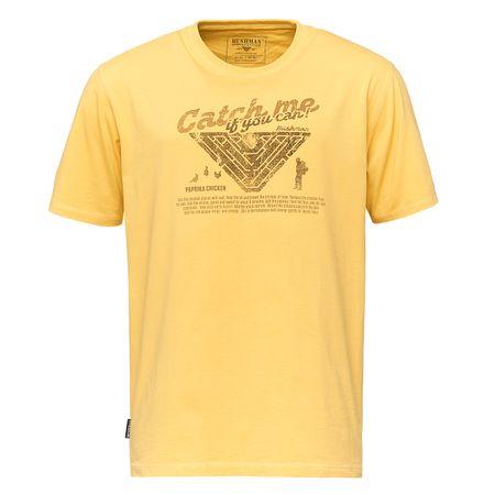 Bushman Tričko WING-yellow, žlutá, M