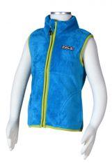 PIDILIDI Chlapecká fleecová vesta - modrá