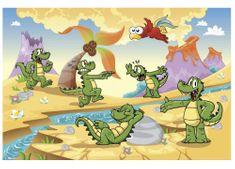 Dimex Fototapeta MS-5-0344 Krokodily 375 x 250 cm