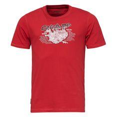 Bushman Tričko WING-red