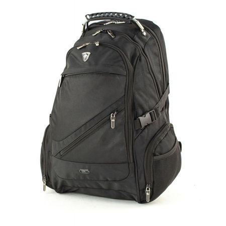 Swissonly ruksak za prijenosno računalo, crni, 35 L, 50 x 34 x 25 cm