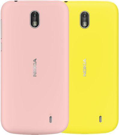 Nokia zestaw etui Xpress-on Dual Pack XP-150 (Pink & Yellow) do telefonu Nokia 1