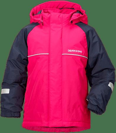 Didriksons1913 jakna za djevojčice, roza, 110