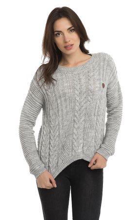 Paul Parker ženski pulover, siv, XL